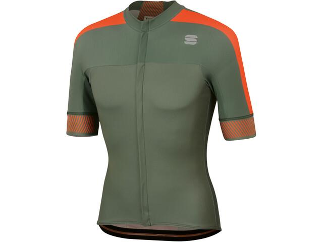 Sportful Bodyfit Pro 2.0 Classics Jersey Men dry green/orange sdr